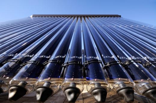 Evacuated tube solar collector